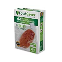 FoodSaver ユニークな多層構造真空シーラー用バッグ 44 Bags クリア FSFSBF0226-FFP