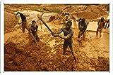 ガーナゴールド鉱山13086のティンサイン 金属看板 ポスター / Tin Sign Metal Poster of Ghana Gold Mines 13086
