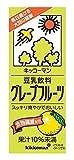 キッコーマン飲料 豆乳飲料 グレープフルーツ 200ml×18本
