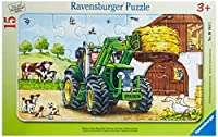 Ravensburger Tractor on the Farm Jigsaw Puzzle (15 Piece) [Floral] [並行輸入品]