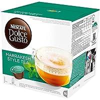 ネスカフェ ドルチェグスト(DOLCE GUSTO)  Marrakesh Style Tea - カプセル 16杯分×4箱 - 並行輸入品
