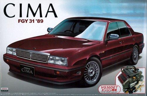 1/24 ザ・ベストカーGT No.21 Y31 シーマ 後期型 エンジン付