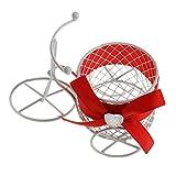 ノーブランド品 8色 金属 ノベルティ 三輪車 キャンディ/チョコレート ボックス 結婚式/誕生日の好意  - 赤, ワンサイズ