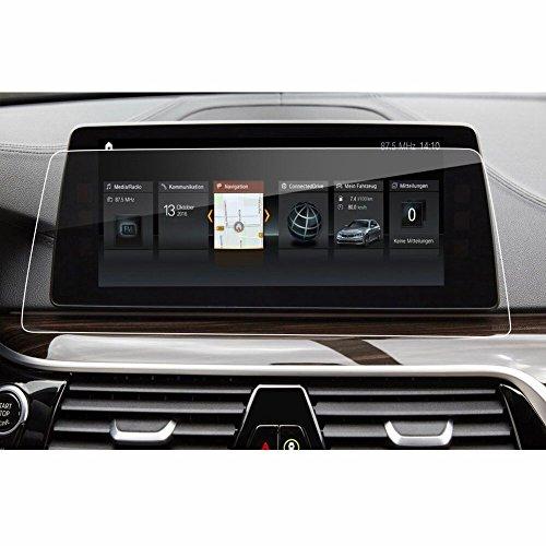 【LFOTPP】 new BMW 5シリーズ(2017) ナビゲーション専用液晶保護フィルム 強化ガラス 高感度タッチ 気泡ゼロ 指紋防止 飛散防止