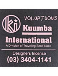 KUUMBA (クンバ)『incense』(VOLUPTUOUS) (Regular size)
