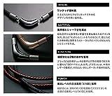 【羽生結弦選手 愛用商品】ファイテン(phiten) ネックレス RAKUWA ネックX100 (チョッパーモデル) ブラック 50cm