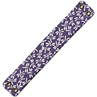 弓具 弦巻 吊り革 柄 とんぼ 紫×白 山武弓具店 【C-151】