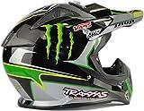 モンスターエナジーモトクロス スポーツ陸上競技安全性 保護アウトドア  オートバイ 保護ヘルメット(L)