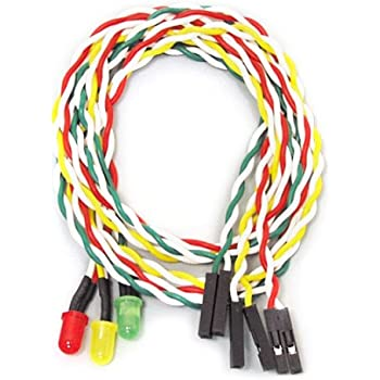 アイネックス ケ-ス用丸型LED5φ赤・黄・緑 LED-05MS