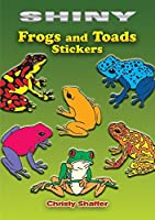 Dover Books DOV-45203-4 Shiny Frogs And Toads Stickers [並行輸入品]