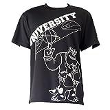 MIZUNO(ミズノ)プラクティスシャツ バスケットボールTシャツ ディズニー サリー W2MA7003 09ブラック 140