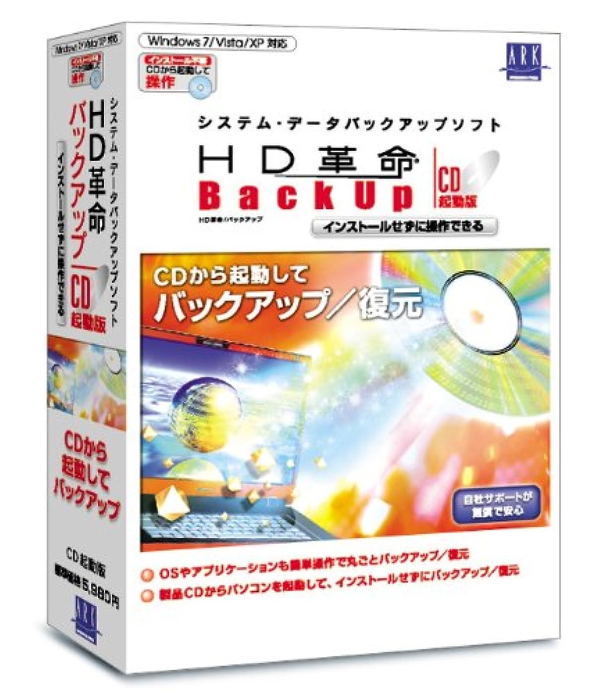 HD革命/BackUp CD起動版