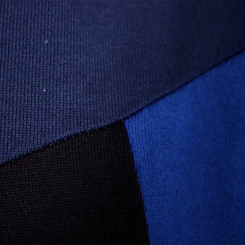 (エイト) 8(eight)3color 切替 半袖Tシャツ コットン ネイビー L