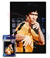 Small Art Sleeve - Bruce Lee - Deck Protector Sleeves (60 Count) for YuGiOh, Cardfight Vangaurd or Smaller Size Cards