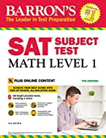 Barron's SAT Subject Test: Math Level 1 with Online Tests (Barrons Sat Subject Test)