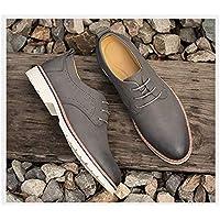 MTSL Men's Shoes Autumn Men's Business Casual Shoes Men's Youth Soft Bottom Korean Version of The Dress Shoes Leather Black