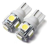 ムーヴ L175 ポジションランプ LED バルブ T10 ウェッジ球 ホワイト 2個セット ポジション灯 スモールランプ