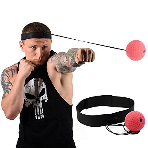 Poilee パンチングボール ボクシング グッズ 格闘技 打撃練習 フリー戦闘 反射神経・動体視力・迅速な対応能力など鍛え