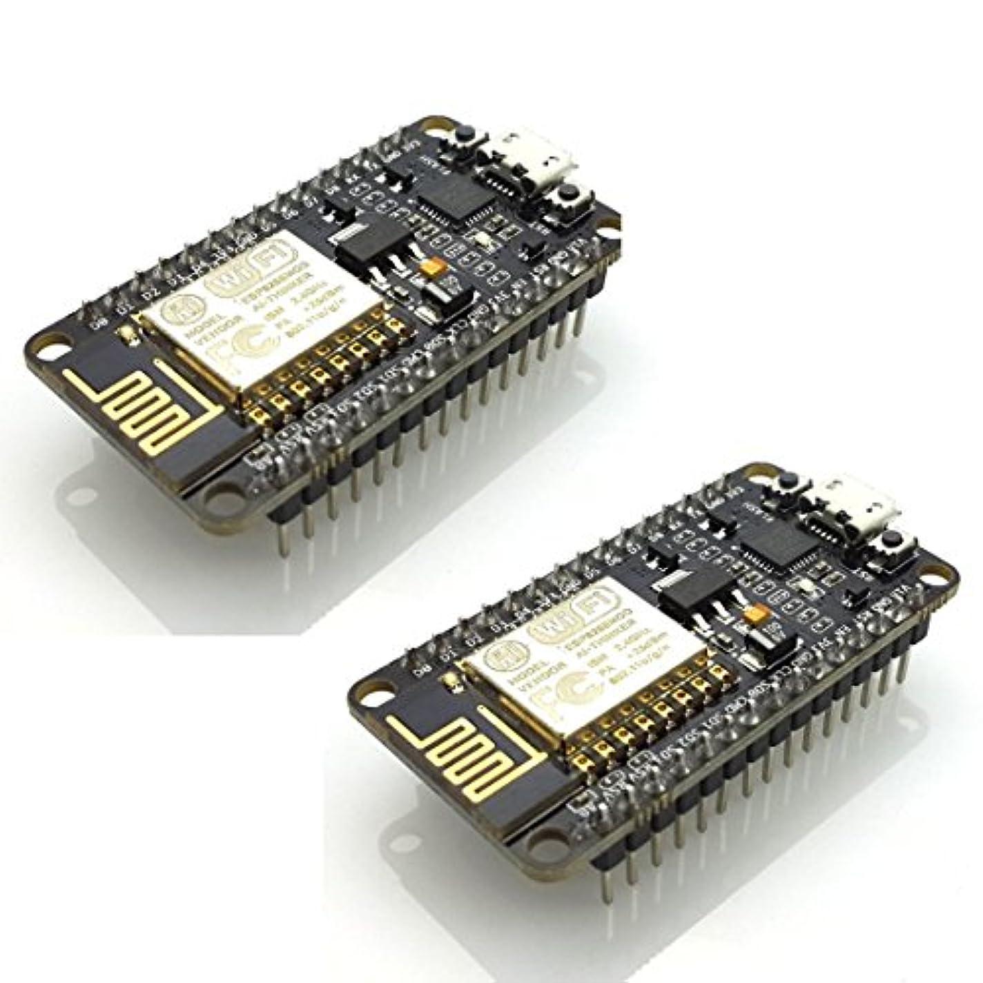 否認する持参モネHiLetgo 2個セット ESP8266 NodeMCU LUA CP2102 ESP-12E モノのインターネット開発ボード ESP8266 無線受信発信モジュール WIFIモジュール Arduinoに適用 [並行輸入品]