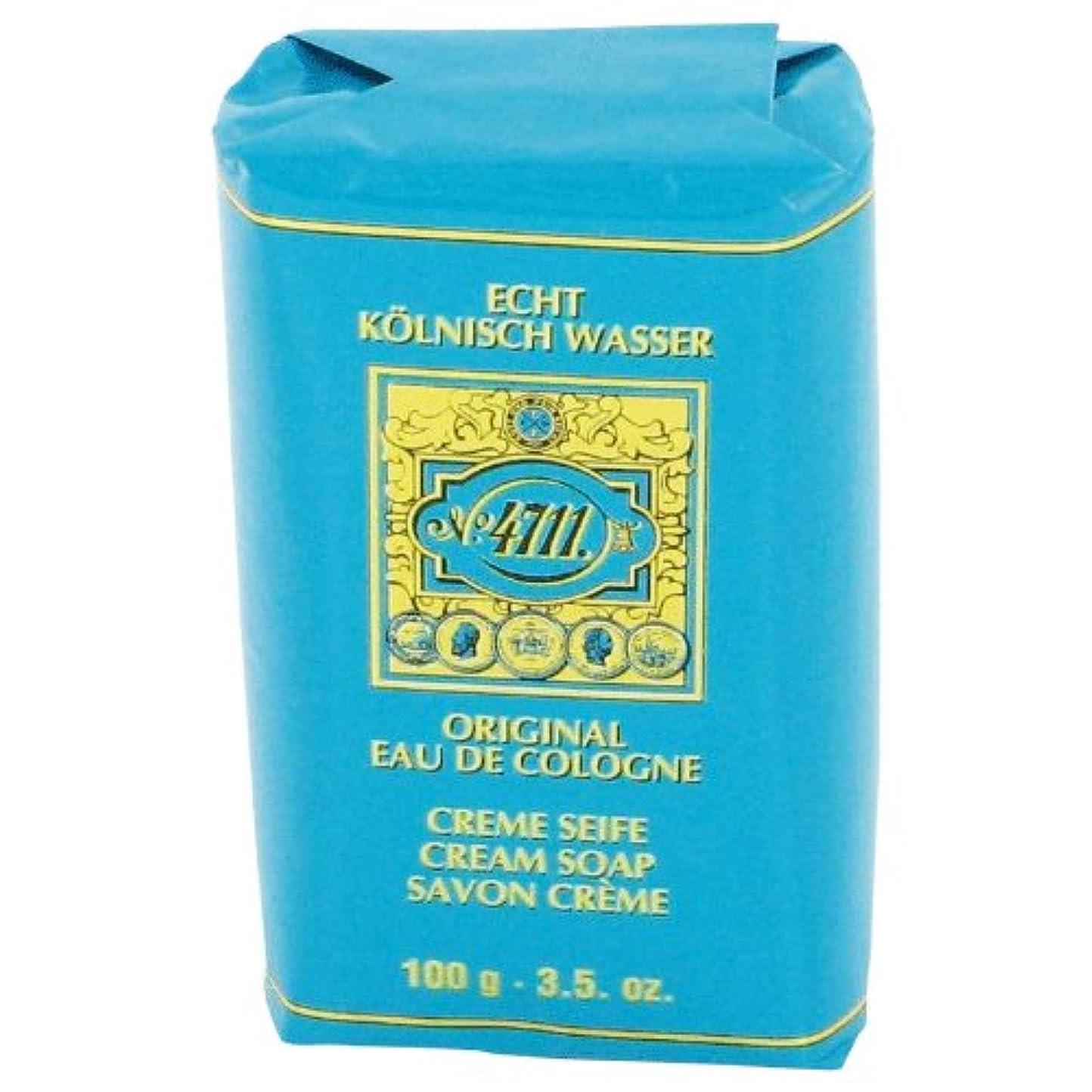 抑止する羽効率的4711 cream soap 100 gr [海外直送品] [並行輸入品]