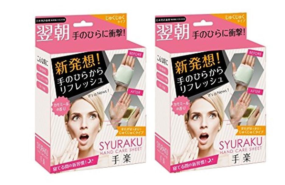 影響防止熱手楽(シュラク)じゅくじゅくタイプ 16枚入り 2箱セット