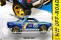 ホットウィール 2014 #123 スバル ブラット Blue Metallic