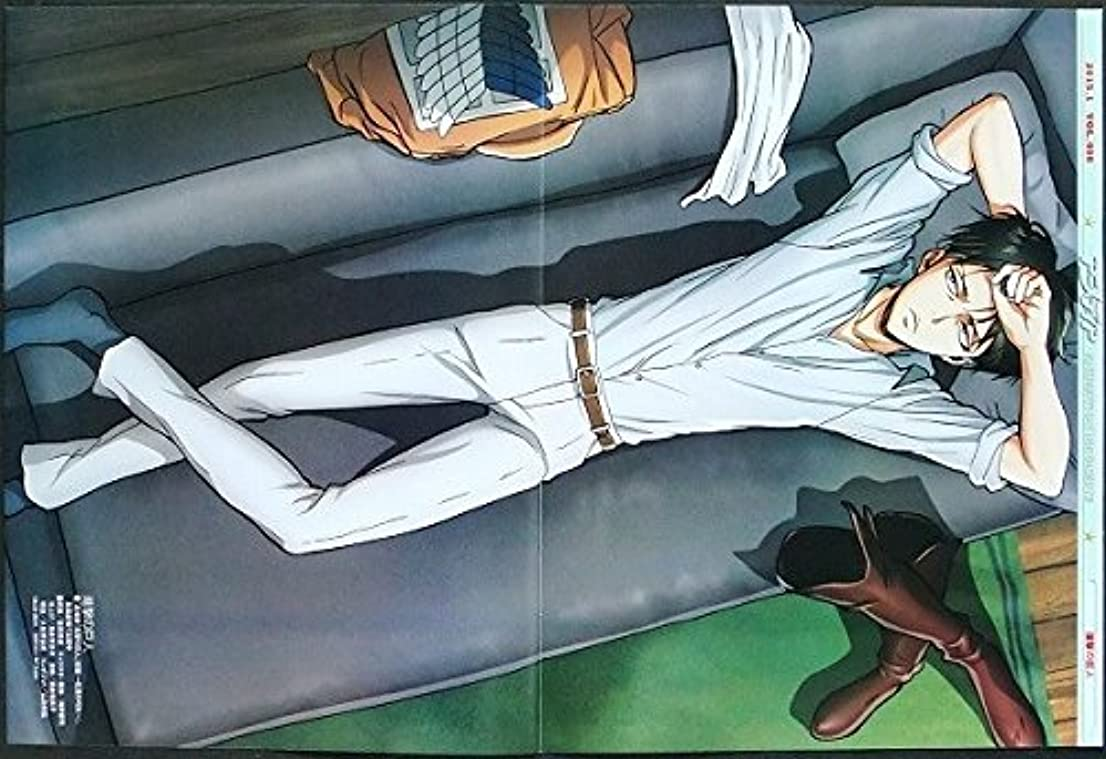 多様体火山学ウェーハ進撃の巨人 ピンナップポスター リヴァイアッカーマン兵長 ダークファンタジーアニメ