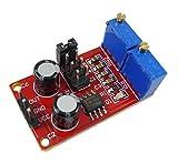 KKHMF NE555 パルス周波数正方形波信号ジェネレーター デューティサイクル調整可能なモジュール