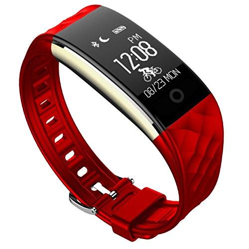 防水 スマートウォッチ Fitness tracker Bluetooth 4.0対応