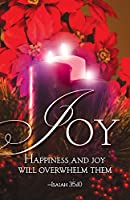 Joy Advent Candle Sunday 3 Bulletin: Package of 50