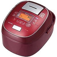東芝 真空IHジャー炊飯器(5.5合炊き) ディープレッドTOSHIBA 鍛造かまど銅釜 RC-10VRL-RS