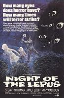 Night of the Lepusムービーポスター11x 17Stuart Whitman Janet Leighロリー・カルホーンDeForest Kelley Unframed 243147