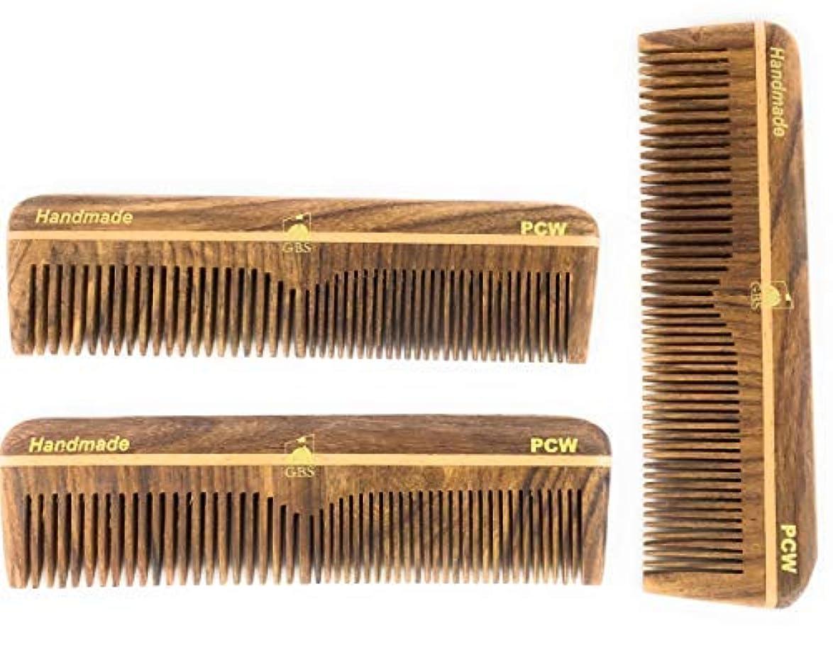 平方平行当社GBS Professional Grooming Comb - 5