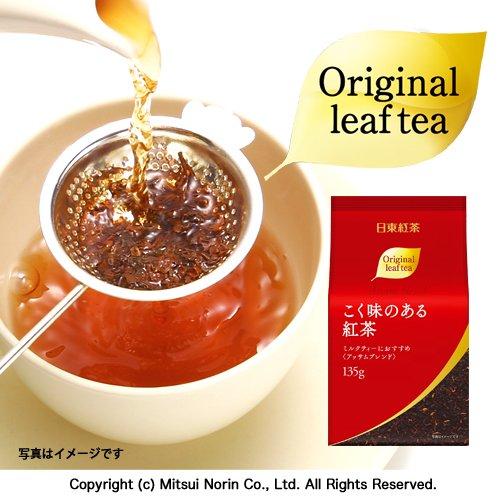 日東紅茶 こく味のある紅茶 135g