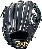 ゼット(ZETT) 硬式野球 プロステイタス グラブ (グローブ) セカンド・ショート用 ナイトブラック(1900N) 右投げ用 日本製 BPROG760