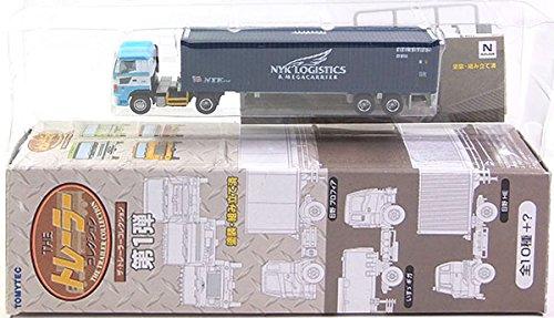 【5】 トミーテック 1/150 ザ・トレーラーコレクション 第1弾 日本コンテナ輸送 日野プロフィア+日本郵船 ドライ40ft 単品