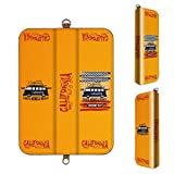 収納力抜群 プルームテックに必要なもの全てこれひとつに Ploom Tech 専用 PUレザー コンパクトケース オリジナルデザイン California シリーズ 06 カリフォルニア 01-pt06-ds0060