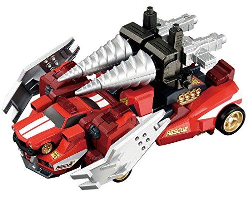 トミカ ハイパーレスキュー ドライブヘッド シンクロ合体セット ブレイブジェットストライカー
