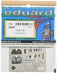 エデュアルド 1/32 ズームエッチングパーツ P-40N (トランペッター用) プラモデル用パーツ EDU33244