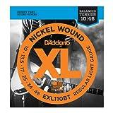【10セット】D'Addario/ダダリオ EXL110BT Balanced Tension Strings エレキギター弦 Regular Light/10-46