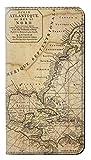 JPW2506H9L 探検北アメリカ地図 Exploration North America Map Huawei Honor 9 Lite フリップケース