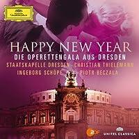 Happy New Year [CD/DVD Combo] by Damrau/Bec ala/Thielemann/Staatskapelle Dresden (2013-03-12)