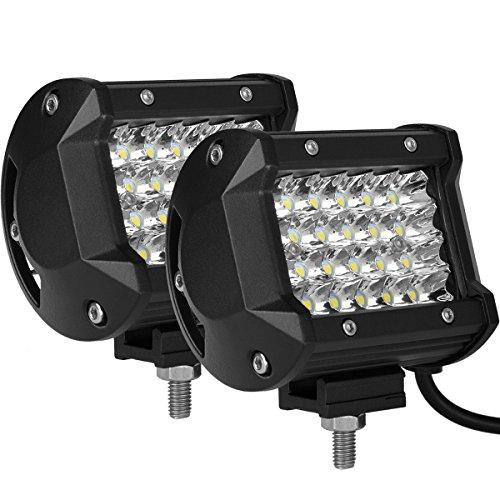 CooAgo LEDワークライト 72W LED作業灯 广角...