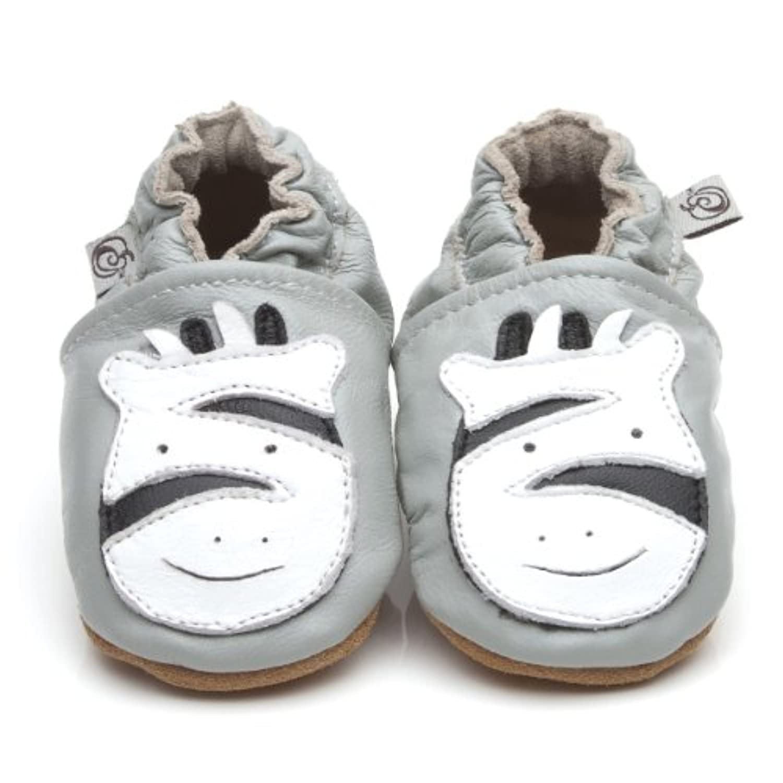 Soft Leather Baby Shoes Zebra [ゼブラソフトレザーベビーシューズ] 3-4 years (16.5 cm)
