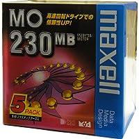 マクセル 3.5インチ MOディスク 230MB 5枚 アンフォーマット MA-M230 B1P5S