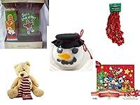 クリスマスFun for Everyoneギフトバンドル[ 5Piece ]–Holiday Decor–アクセサリー–ギフトアイテム–Item No dbund-xmas-11437
