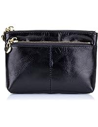 多機能大容量ジッパーゼロハンドバッグ、ブラック