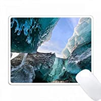 氷河洞窟、Breidamerkurjoekull氷河、Vatnajoekull NP。アイスランド PC Mouse Pad パソコン マウスパッド