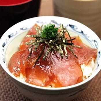 紀州勝浦のマグロ漬け丼80g×3ヶ