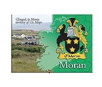 Moran Clan Metallic Picture Fridge Magnet
